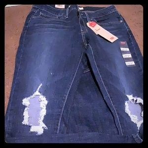 Levis skinny jeans new 711